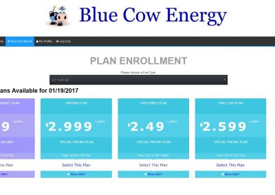 Allow customers to select from different enrollment plans on your website.